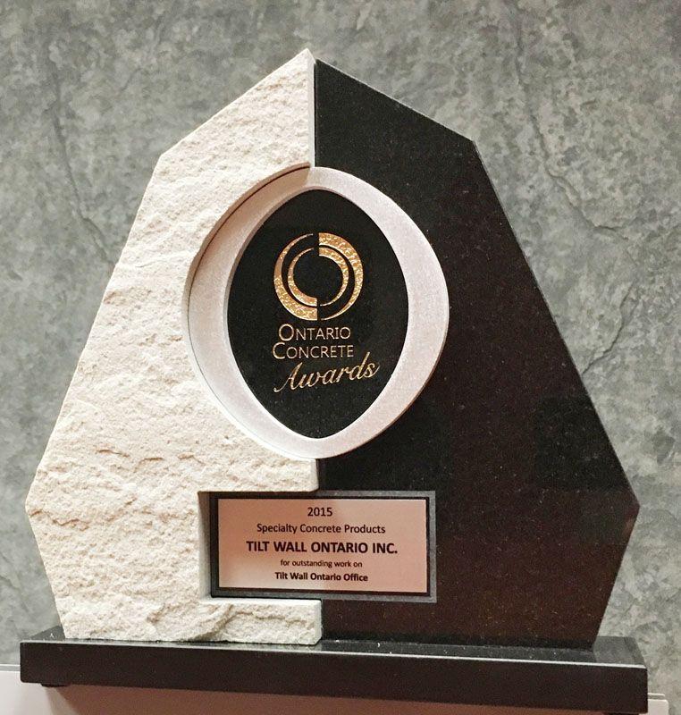 Tiltwall - Ontario Concrete Awards 2015- Tiltwall Office Woodstock
