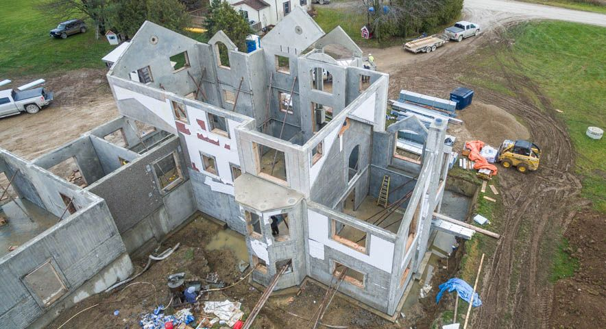 First Residential Home built with Tilt-Up Construction Project