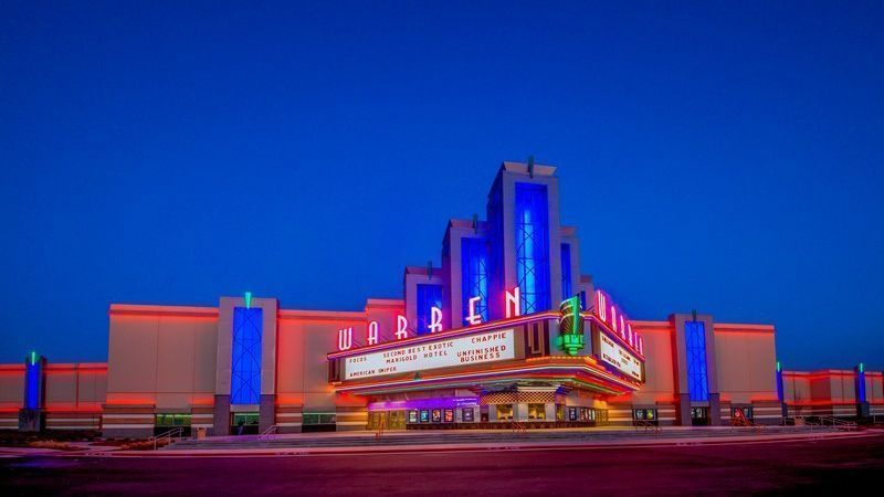 Top 10 Tilt-Up Building Designs Across North America - Warren Theatre - Broken Arrow - TiltWall Ontario