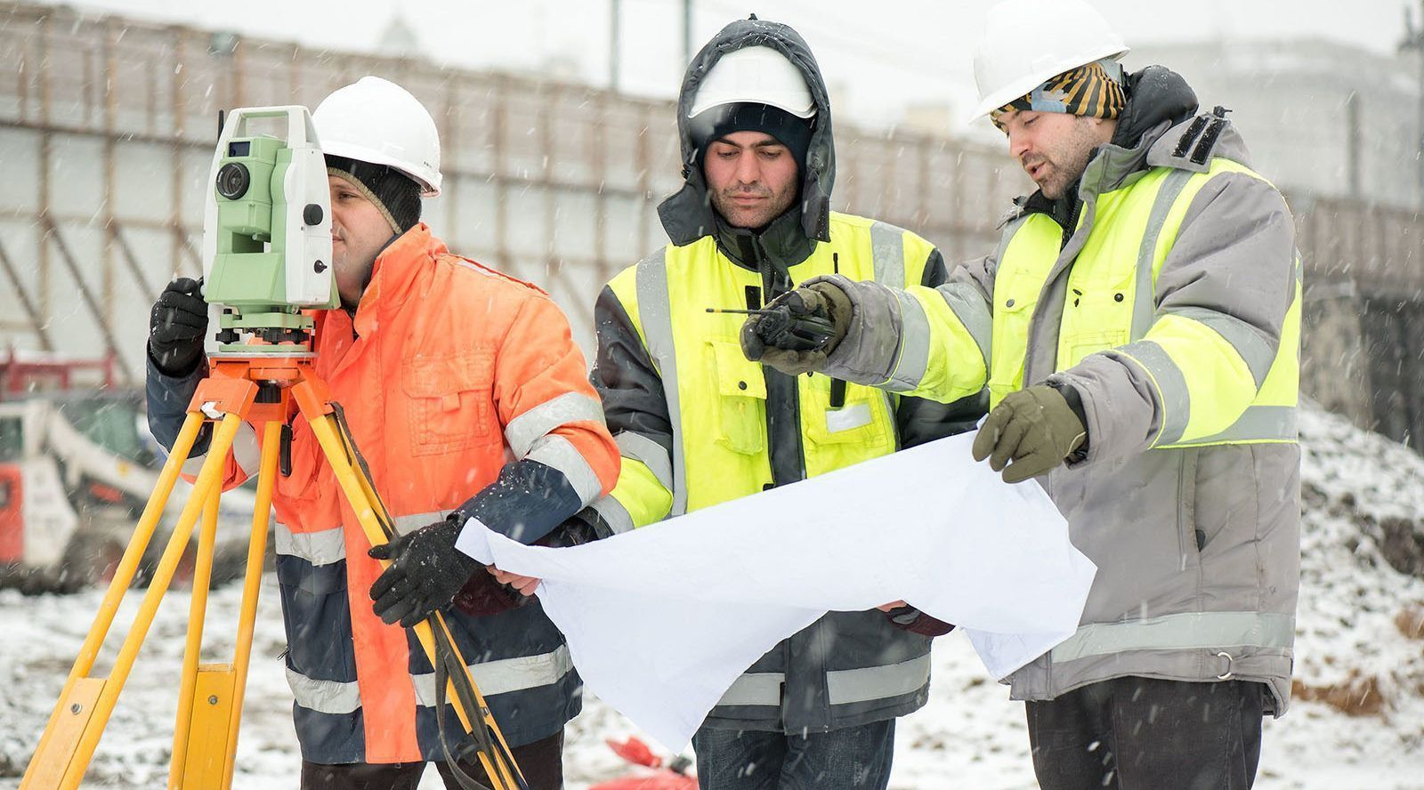 Construction Safety In The Winter - Tilt Wall Ontario