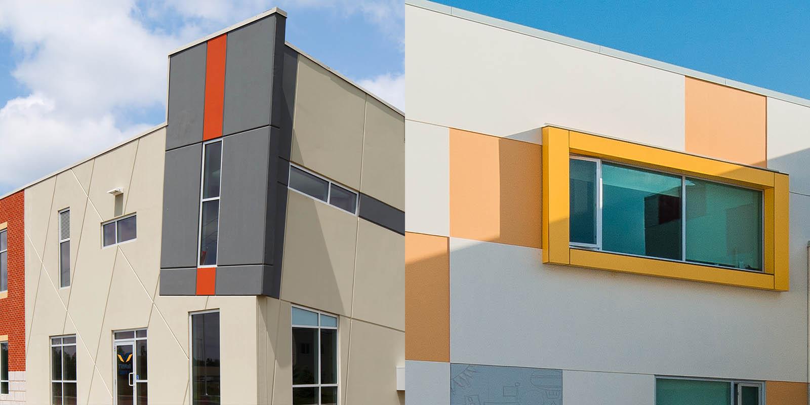 Unique Tilt-Up Building Features